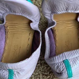 Tieks Lavender Patent